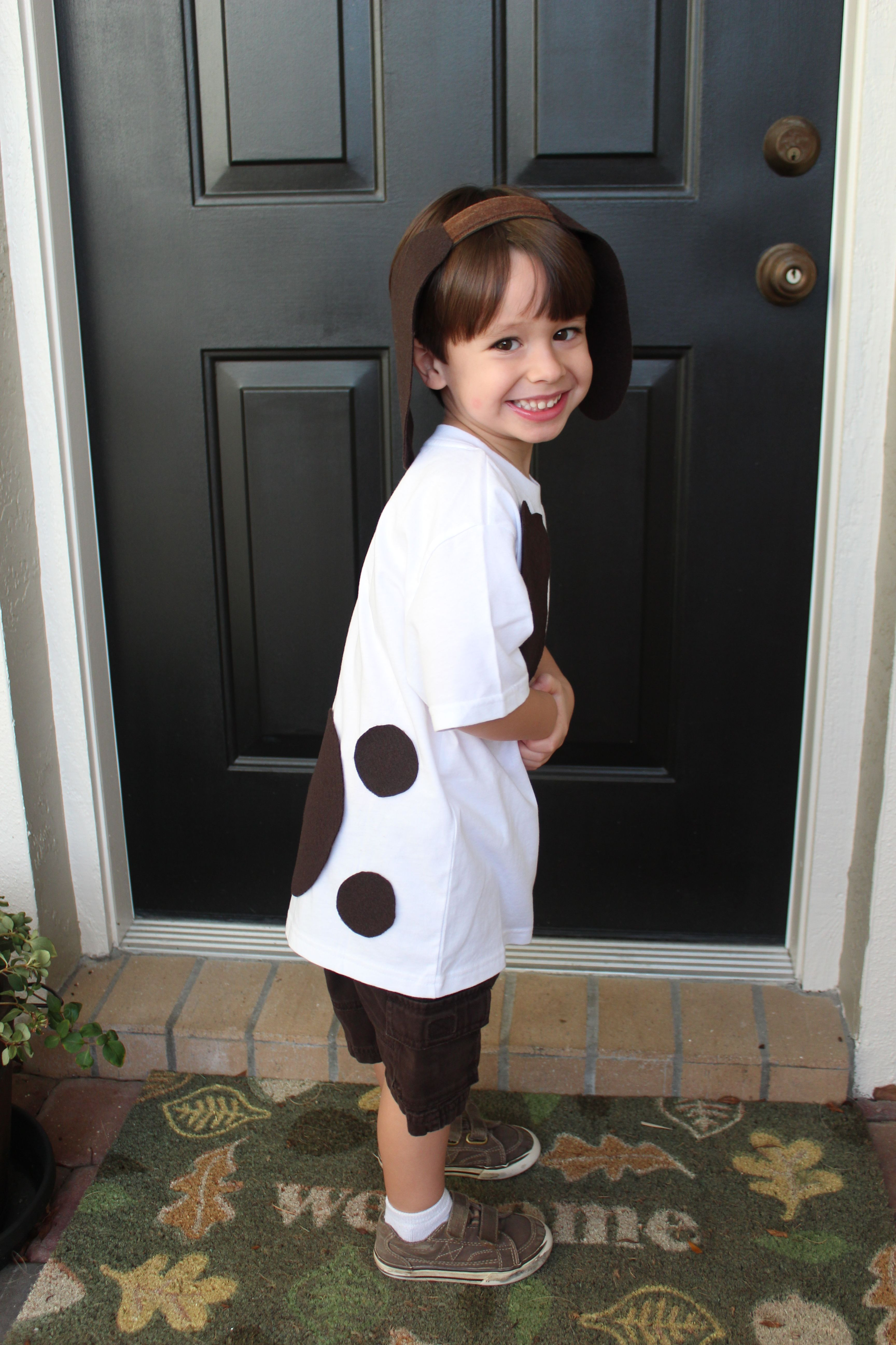 Best ideas about DIY Dog Costume For Kids . Save or Pin My homemade Pokey Little Puppy costume for my son s book Now.