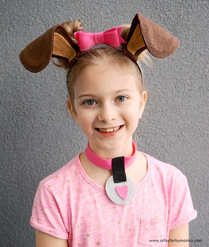 Best ideas about DIY Dog Costume For Kids . Save or Pin Felt Rainbow Heart Garland Laura s Crafty Life Now.