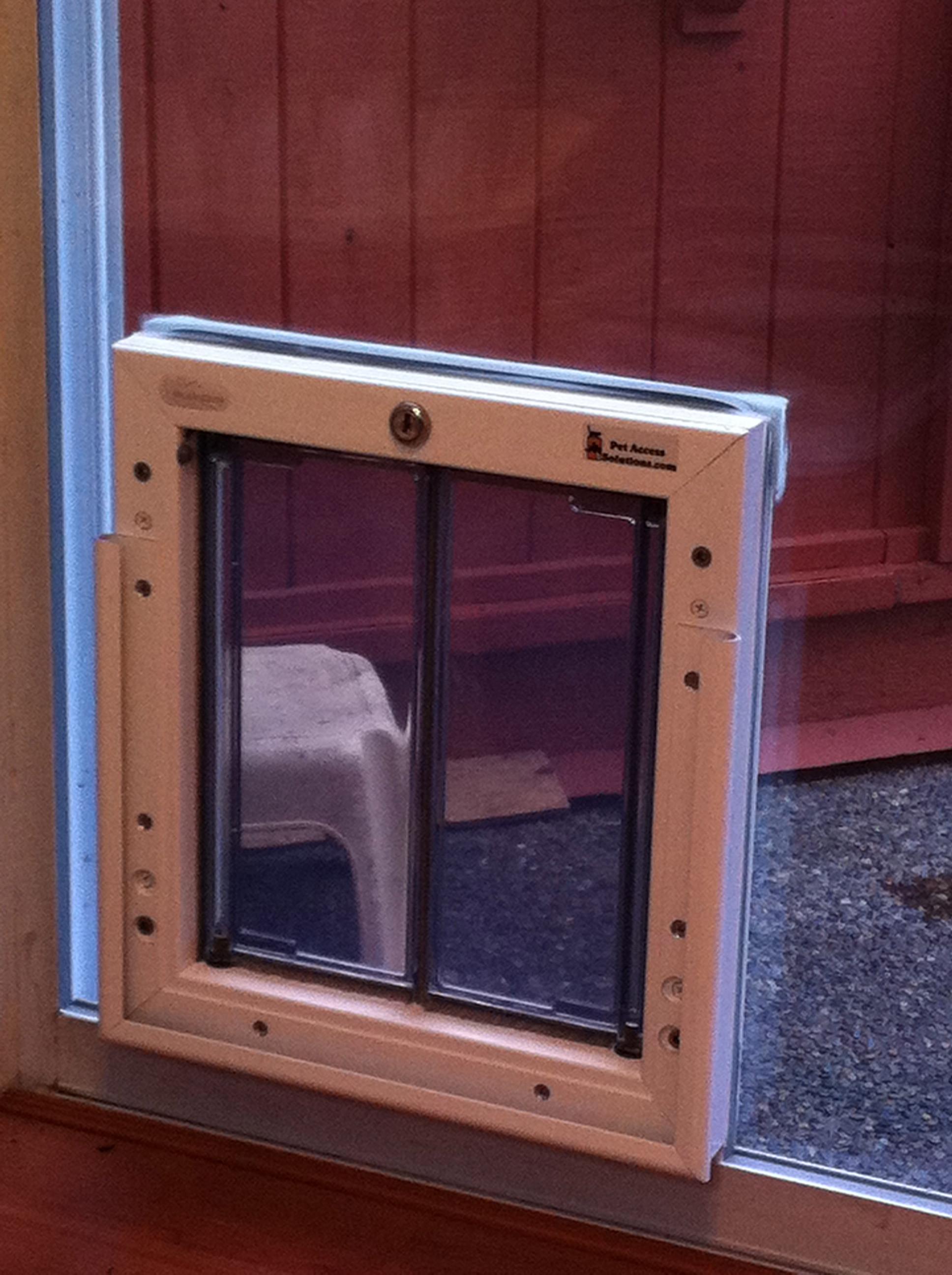 Best ideas about DIY Dog Door Sliding Glass Door . Save or Pin dog door sliding glass door patio door dog door doggie Now.