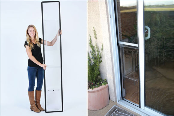 Best ideas about DIY Dog Door Sliding Glass Door . Save or Pin Need a portable pet door for your rented house Check Now.