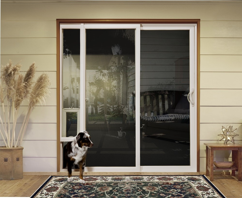 Best ideas about DIY Dog Door Sliding Glass Door . Save or Pin doggie door for sliding glass door for large dog they Now.