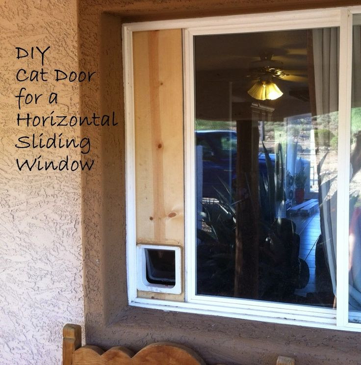 Best ideas about DIY Dog Door Sliding Glass Door . Save or Pin DIY blog with easy ideas Build your own cat door for a Now.