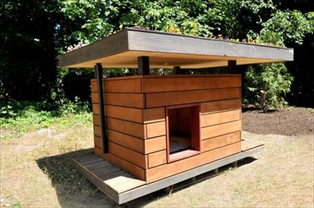 Best ideas about DIY Dog House Ideas . Save or Pin 11 DIY Pallet Doghouse Ideas Now.
