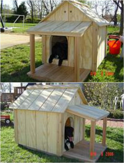 Best ideas about DIY Dog House Ideas . Save or Pin 15 Brilliant DIY Dog Houses With Free Plans For Your Furry Now.