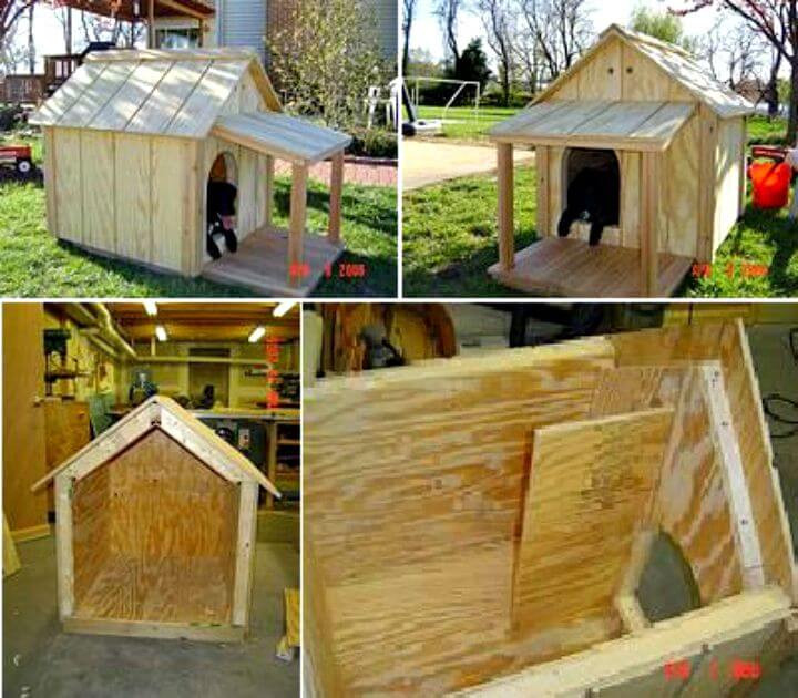 Best ideas about DIY Dog House Ideas . Save or Pin 45 Easy DIY Dog House Plans & Ideas You Should Build This Now.