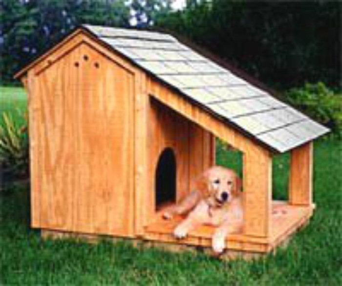Best ideas about DIY Dog House Ideas . Save or Pin Dog House with Shade Porch Now.