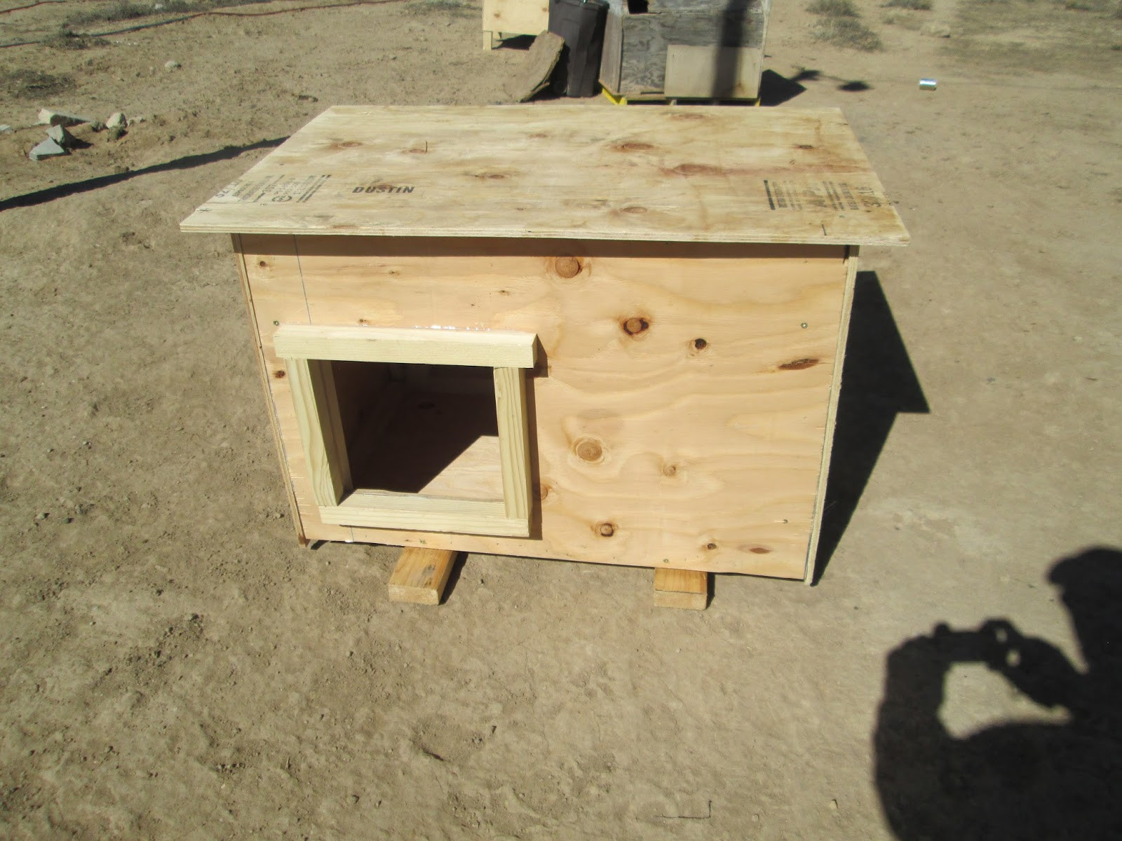 Best ideas about DIY Dog House Kits . Save or Pin Ancient Pathways Survival School LLC DIY Dog House Plans Now.
