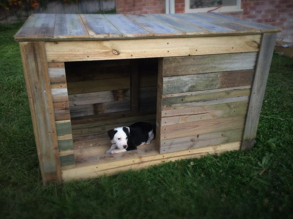 Best ideas about DIY Dog House Kits . Save or Pin DIY Pallet Dog House pallet projects Now.