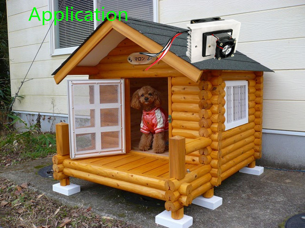 Best ideas about DIY Dog House Kits . Save or Pin DC12V 65W Cooling Pet Air Conditioner Cooler Refrigerator Now.