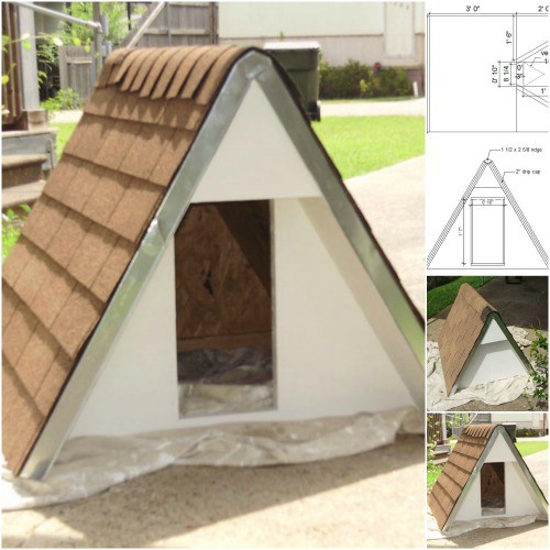 Best ideas about DIY Dog House Kits . Save or Pin 15 Brilliant DIY Dog Houses With Free Plans For Your Furry Now.