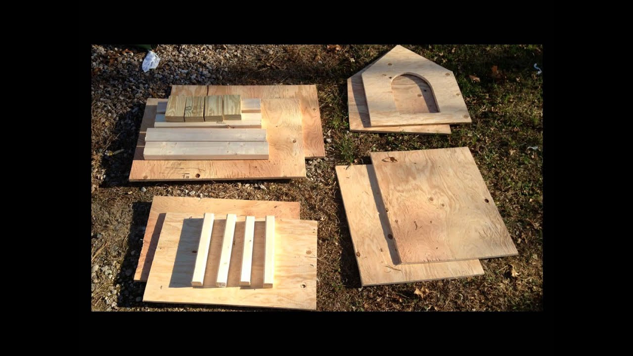 Best ideas about DIY Dog House Kits . Save or Pin Doghouse build from Lowes Plans Slide Show Now.
