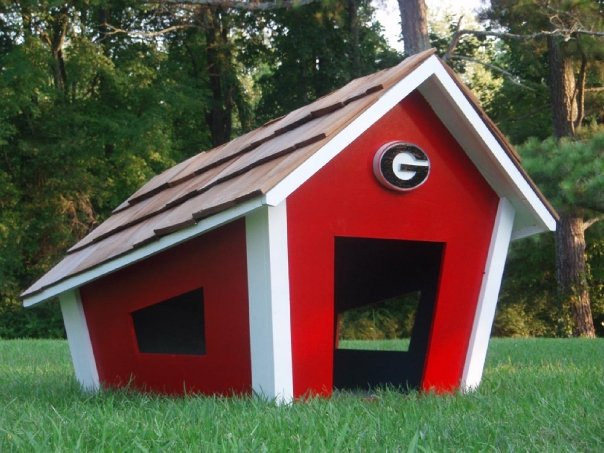 Best ideas about DIY Dog House Plans . Save or Pin 40 Terrific DIY Dog Houses for Fido Now.