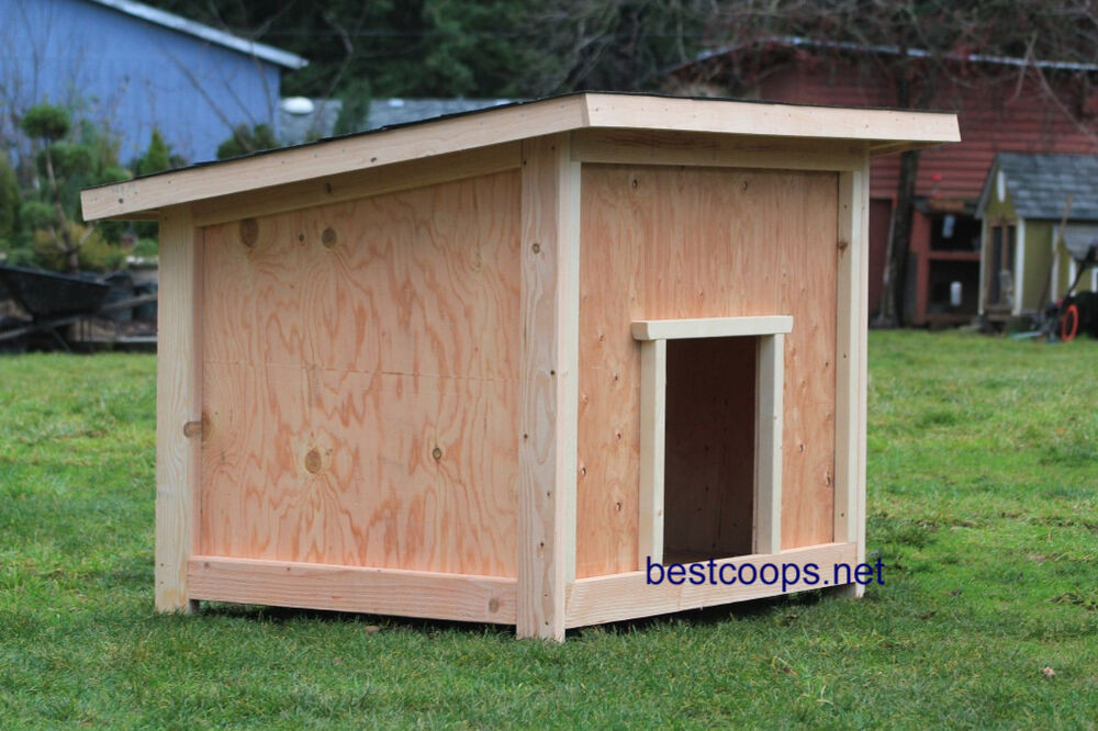 Best ideas about DIY Dog House Plans . Save or Pin Dog House Plan 2 Now.