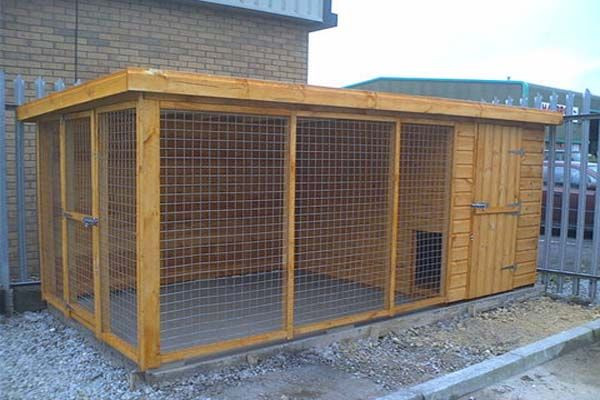 Best ideas about DIY Dog Run . Save or Pin dog kennels and runs Now.