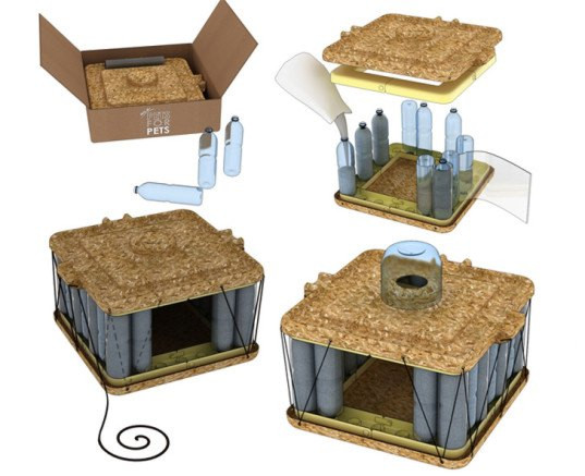 Best ideas about DIY Dog Shelter . Save or Pin The DIY Pet House is an Animal Shelter Made From Recycled Now.