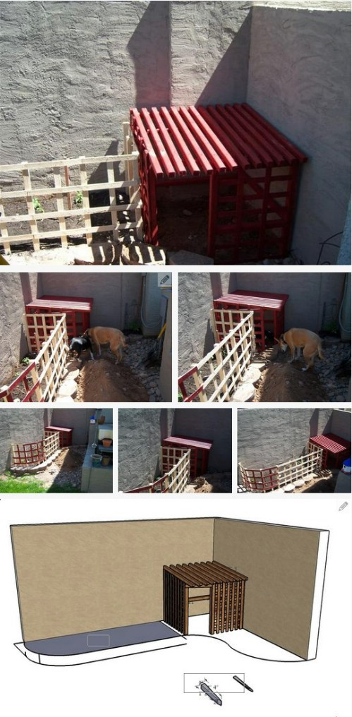 Best ideas about DIY Dog Shelter . Save or Pin 15 Brilliant DIY Dog Houses With Free Plans For Your Furry Now.