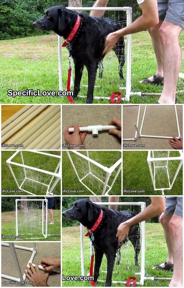 Best ideas about DIY Dog Shower . Save or Pin How to Make PVC Dog Wash Now.