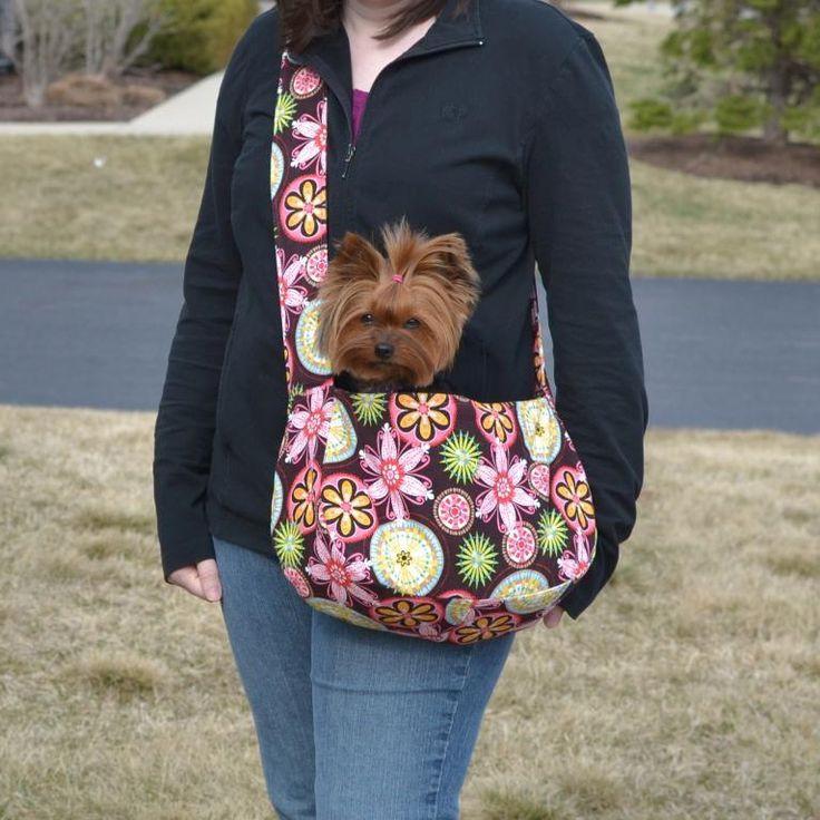 Best ideas about DIY Dog Sling . Save or Pin Sammy Bag Dog Sling Now.