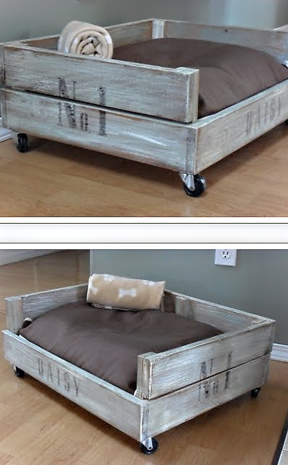Best ideas about DIY Doggie Bed . Save or Pin 14 DIY Dog Beds – Craft Teen Now.