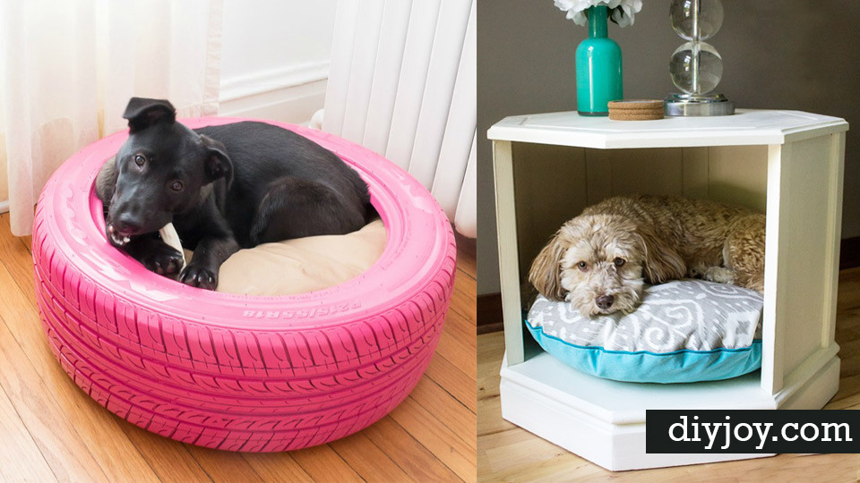 Best ideas about DIY Doggie Bed . Save or Pin 31 Creative DIY Dog Beds You Can Make For Your Pup Now.