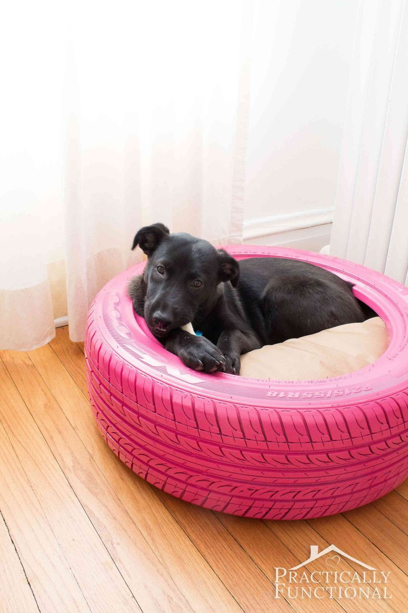 Best ideas about DIY Doggie Bed . Save or Pin DIY Dog Bed From A Recycled Tire Now.