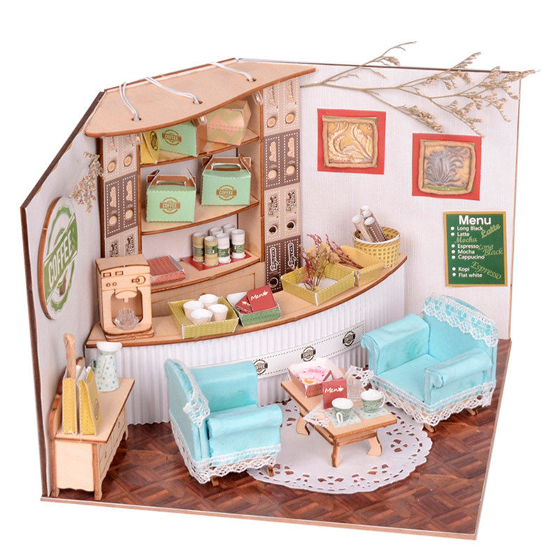 Best ideas about DIY Dollhouse Kit . Save or Pin Sweet Home Colombian Coffee House Room DIY Dollhouse Kit Now.