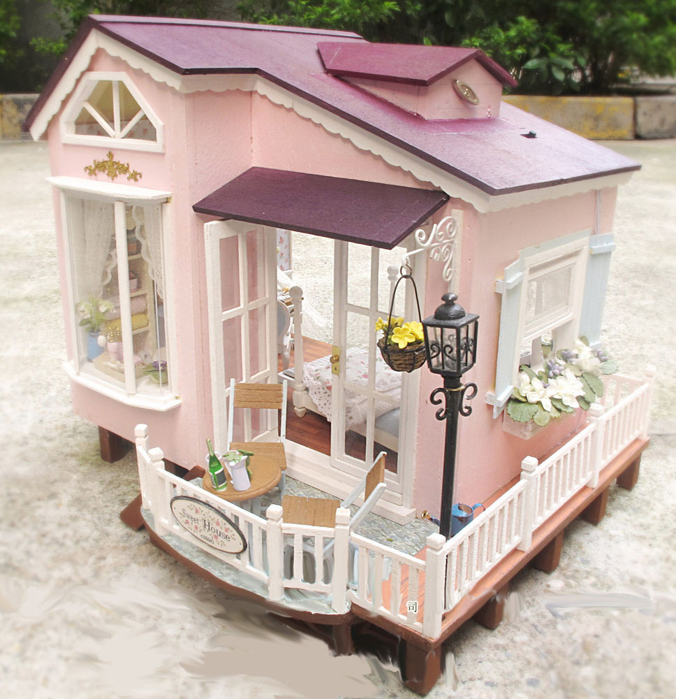 Best ideas about DIY Dollhouse Kit . Save or Pin Dollhouse Miniature DIY Kit w Light Italy HoneyMoon Now.