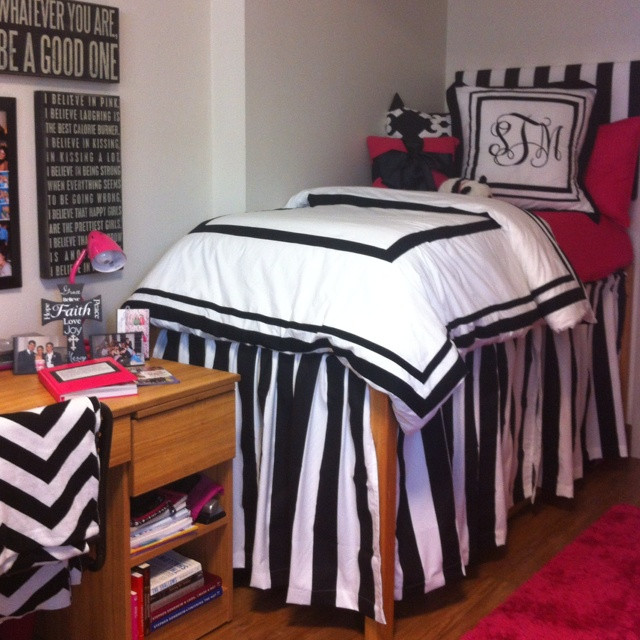Best ideas about DIY Dorm Bed Skirt . Save or Pin 17 Best images about dorm rooms on Pinterest Now.