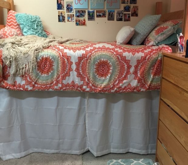 Best ideas about DIY Dorm Bed Skirt . Save or Pin Best 25 Dorm bed curtains ideas on Pinterest Now.