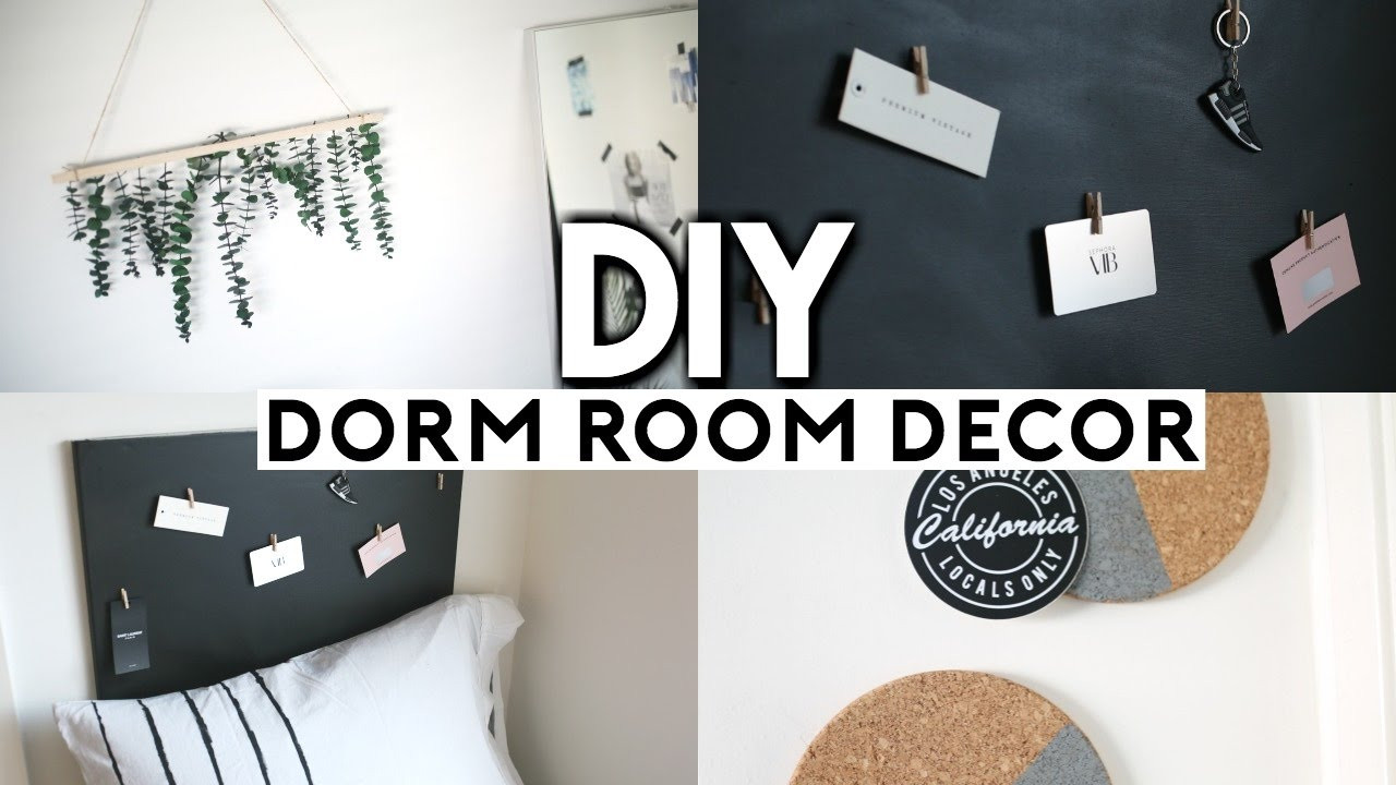 Best ideas about DIY Dorm Room Decorating . Save or Pin DIY Dorm Room Decor EASY & CHEAP Now.