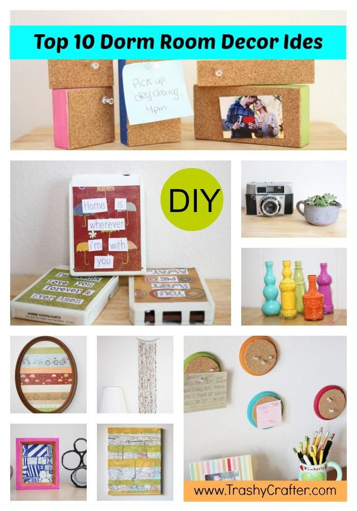 Best ideas about DIY Dorm Room Decorating . Save or Pin DIY Tutorial DIY Accessories Top 10 Dorm Room Decor Ideas Now.