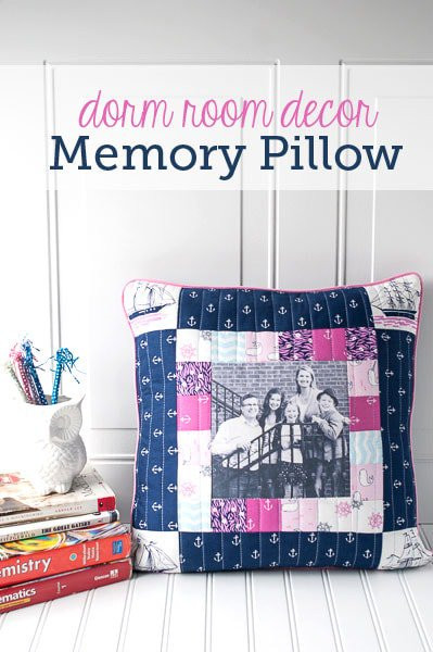 Best ideas about DIY Dorm Room Decorating . Save or Pin Dorm Room Decorating Ideas Memory Pillow sewing pattern Now.