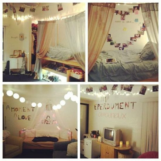 Best ideas about DIY Dorm Room Decorating . Save or Pin cute diy dorm room decor ideas College life Now.