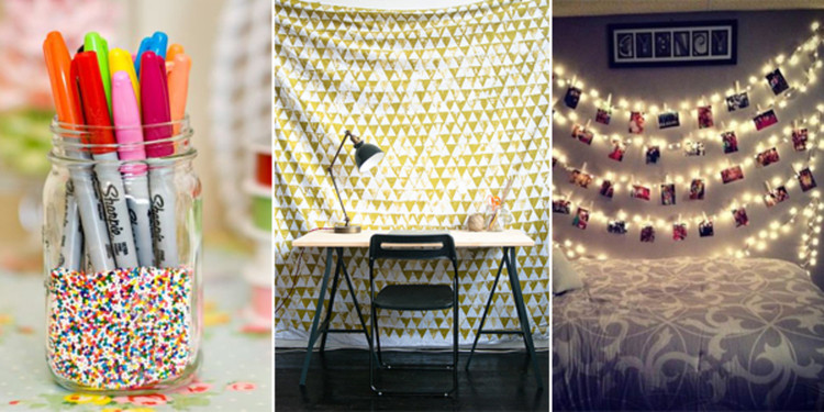 Best ideas about DIY Dorm Room Decorating . Save or Pin 6 D I Y s to Make Your Dorm Pinterest Worthy Now.