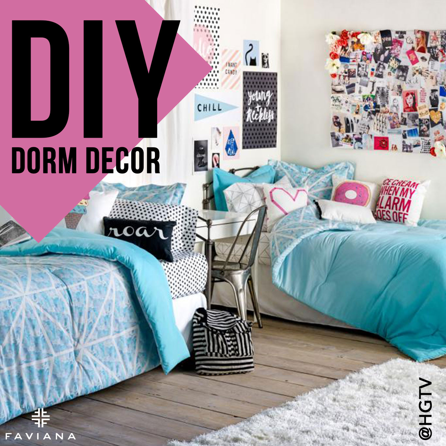 Best ideas about DIY Dorm Room Decorating . Save or Pin DIY Dorm Decor Now.