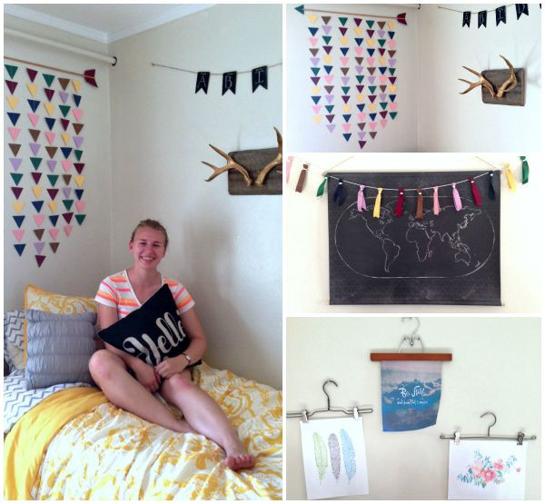 Best ideas about DIY Dorm Room Decorating . Save or Pin Three Things 9 26 15 DIY Dorm Decor Amazon Households Now.