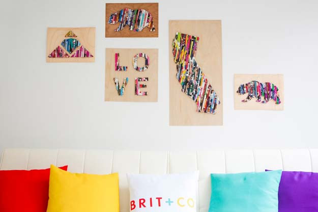 Best ideas about DIY Dorm Room Decorating . Save or Pin 46 Best DIY Dorm Room Decor Ideas Now.