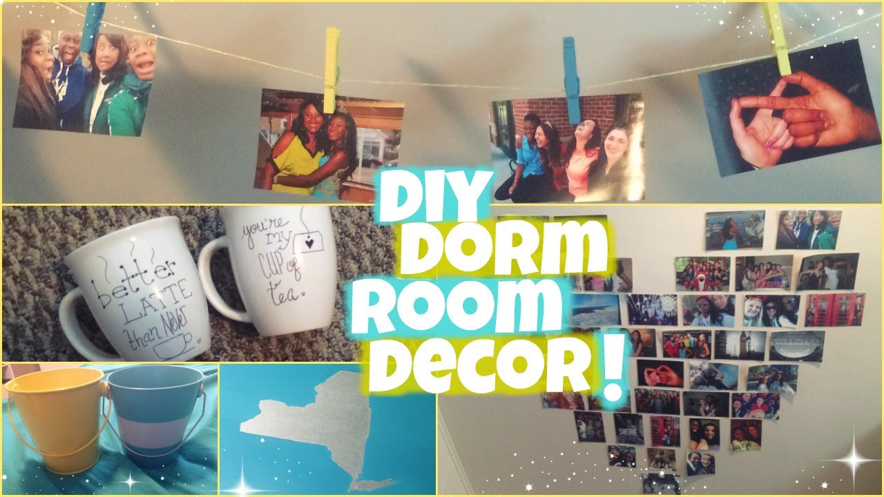 Best ideas about DIY Dorm Room Decorating . Save or Pin DIY DORM ROOM DECOR♡ Now.