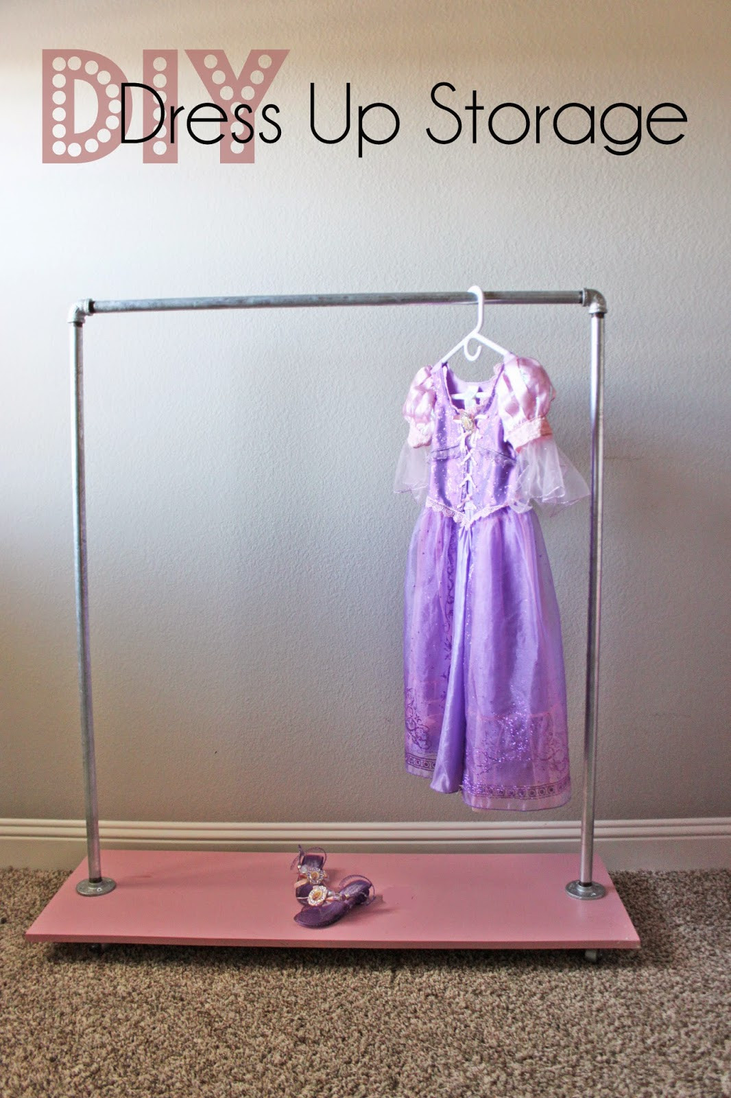 Best ideas about DIY Dress Up Storage . Save or Pin a little of this a little of that DIY Industrial Dress Now.