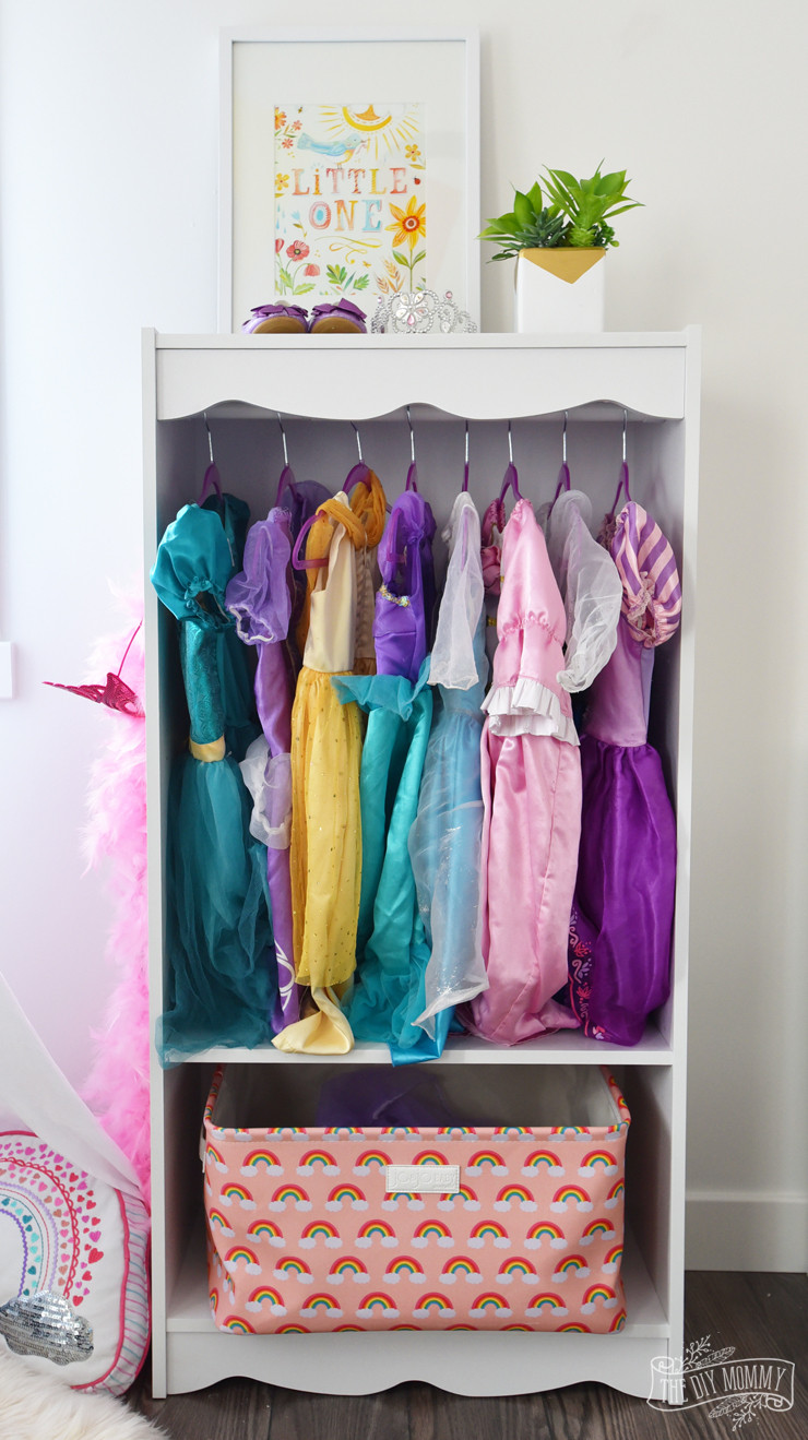 Best ideas about DIY Dress Up Storage . Save or Pin DIY Dress Up Storage Bookcase Hack Now.