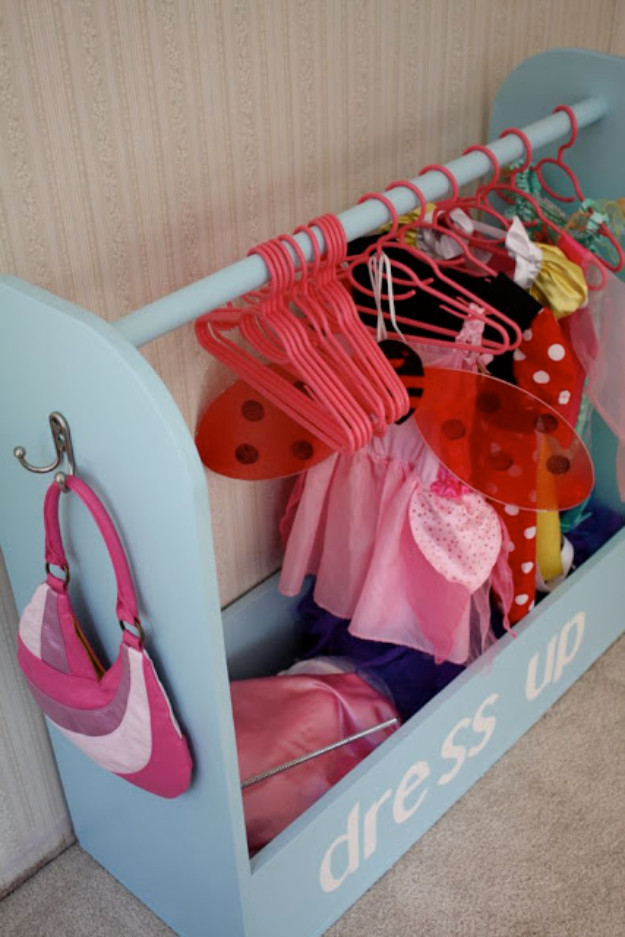 Best ideas about DIY Dress Up Storage . Save or Pin 30 DIY Organizing Ideas for Kids Rooms Now.