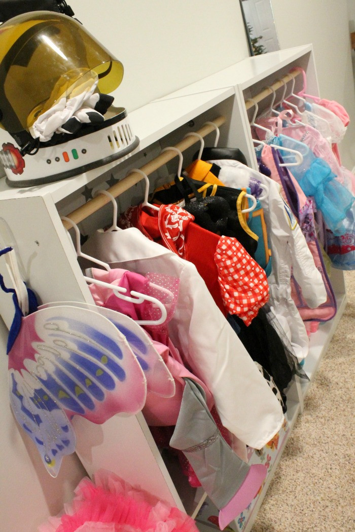 Best ideas about DIY Dress Up Storage . Save or Pin DIY Dress up Clothes Storage the mcbaileys Now.