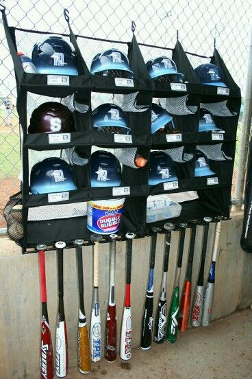 Best ideas about DIY Dugout Organizer . Save or Pin Good idea for the dugout Softball Pinterest Now.