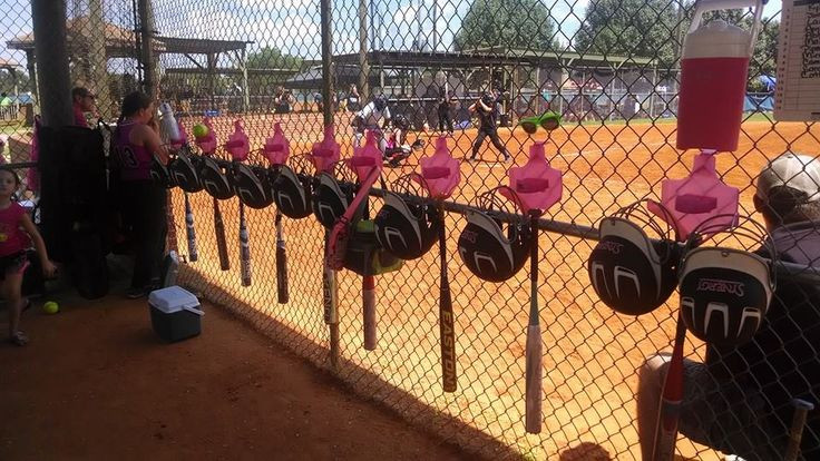 Best ideas about DIY Dugout Organizer . Save or Pin Dugout Organizer hangs all the players equipment Now.