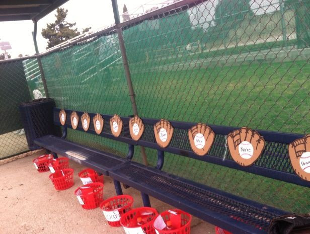 Best ideas about DIY Dugout Organizer . Save or Pin Organized dugout Baseball Mom Now.