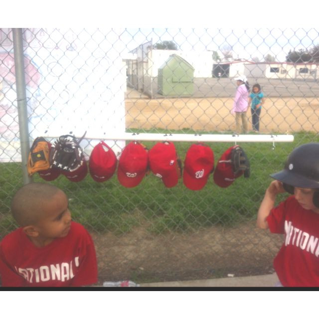 Best ideas about DIY Dugout Organizer . Save or Pin Tball baseball dugout hat and glove organizer I made Now.