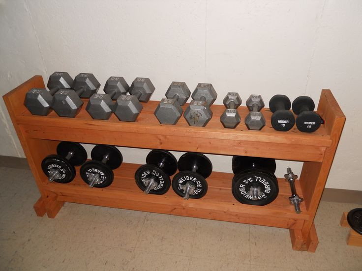 Best ideas about DIY Dumbbell Rack . Save or Pin 25 best Weight Rack ideas on Pinterest Now.