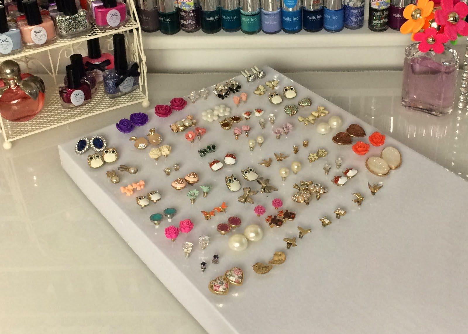 Best ideas about DIY Earring Storage . Save or Pin DIY quick and easy earring storage solution Now.