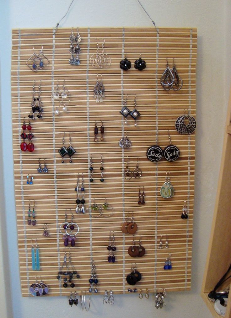 Best ideas about DIY Earring Storage . Save or Pin Best 25 Diy earring holder ideas on Pinterest Now.