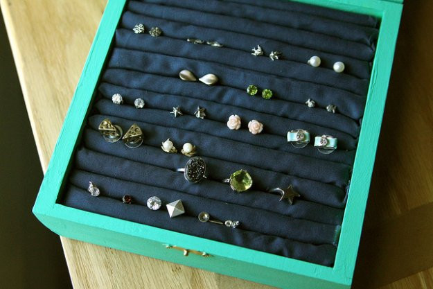 Best ideas about DIY Earring Storage . Save or Pin 10 DIY Earring Holder Ideas DIY Projects Craft Ideas & How Now.